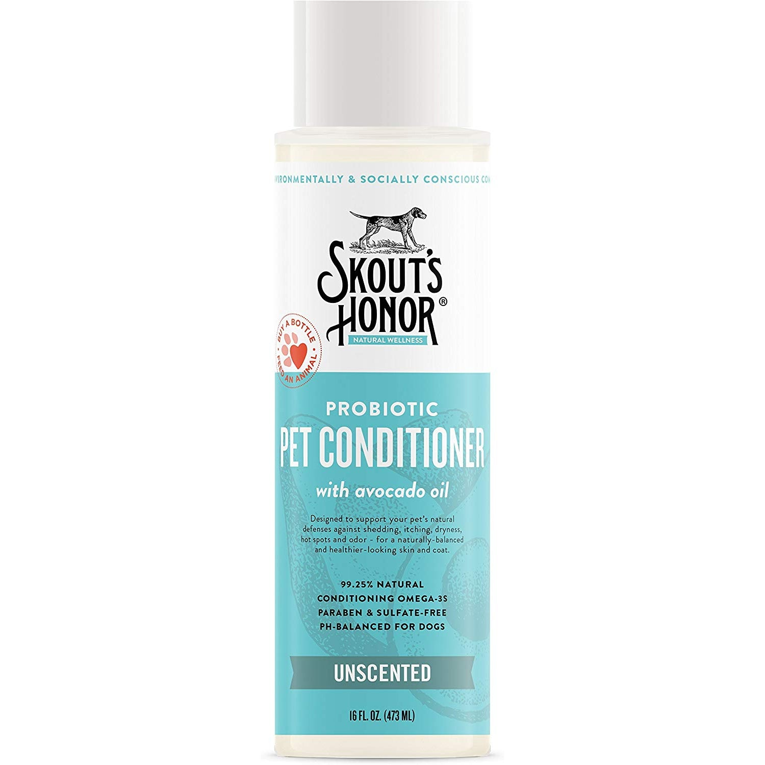 Skout's Honor Pet Conditioner Probiotic Unscented