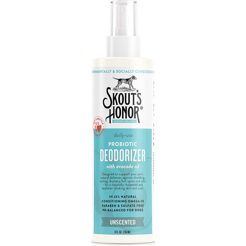 Skout's Honor Daily Use Pet Deodorizer Probiotic Unscented