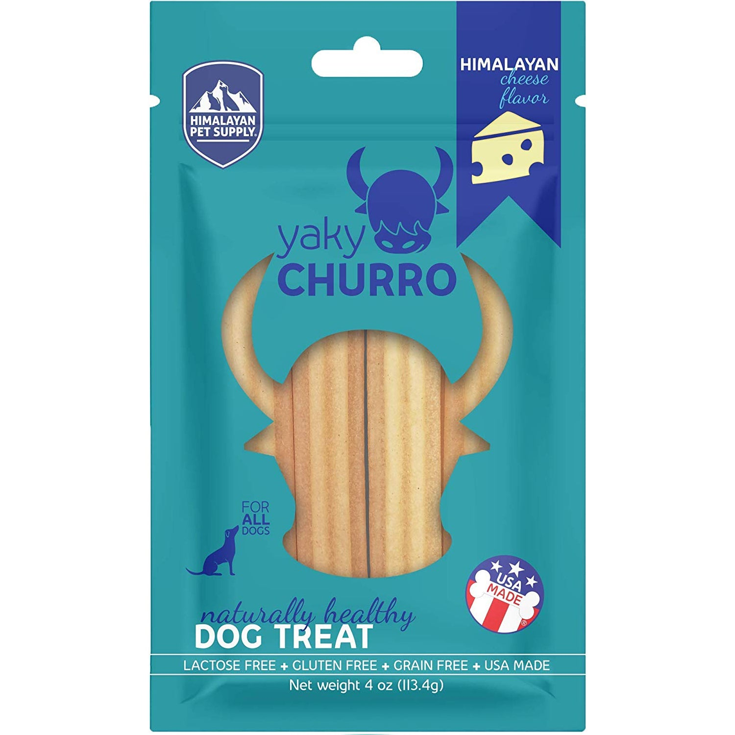 Himalayan Dog Chew Yaky Churro Himalayan Cheese Dog Treats