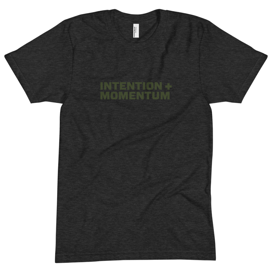 Intention+Momentum Green Tee