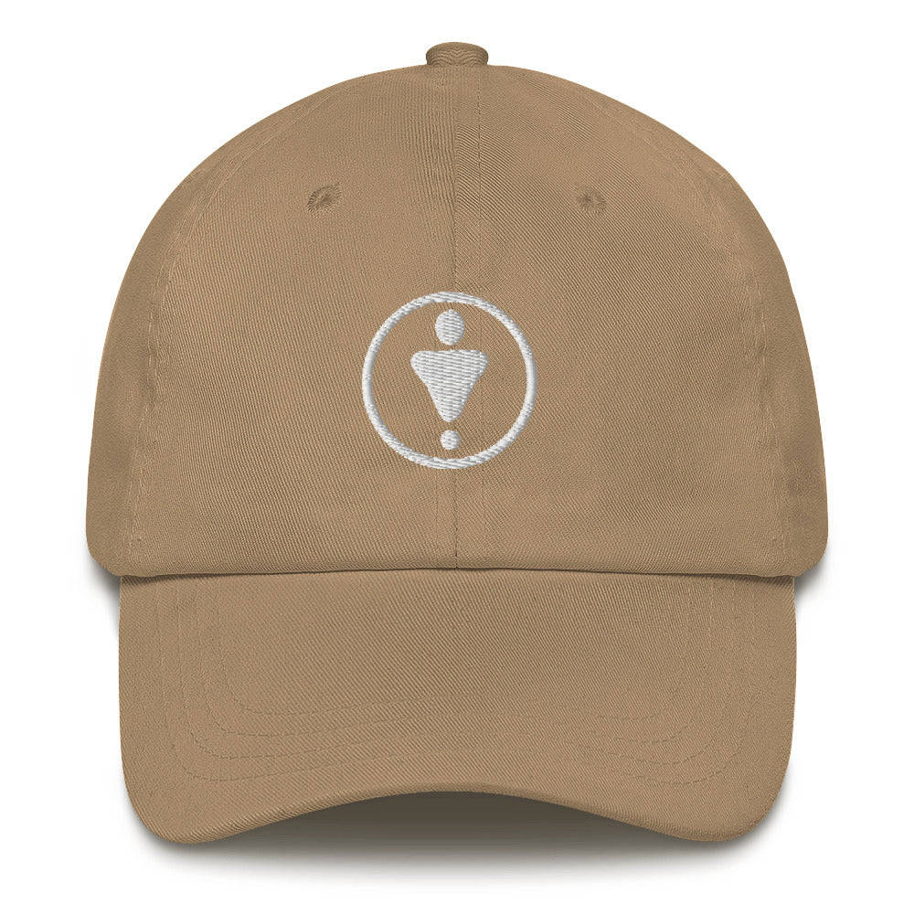 Dad hat, White Medallion