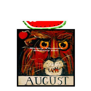 August Lion-Original Month Series