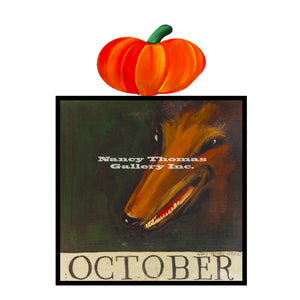October Fox-Original Month Series