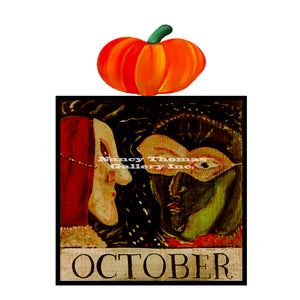 October Masks-Original Month Series