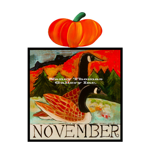 November Geese-Original Month Series
