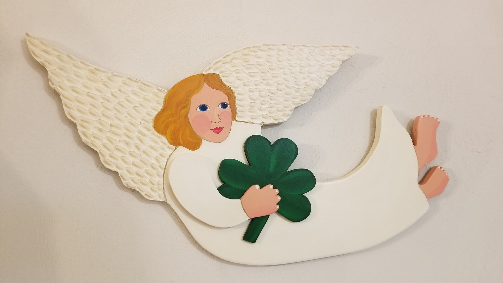 Shamrock Gatherer Angel
