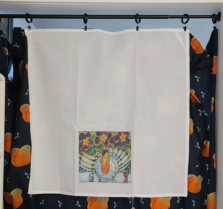 NEW! NANCY THOMAS KITCHEN DISH TOWELS - BIRD