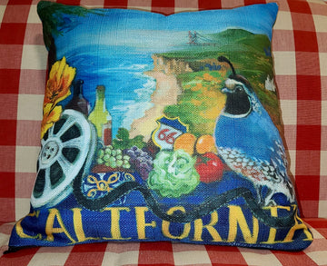 NANCY THOMAS PILLOWS - States - California