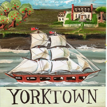 YARD FLAGS - YORKTOWN