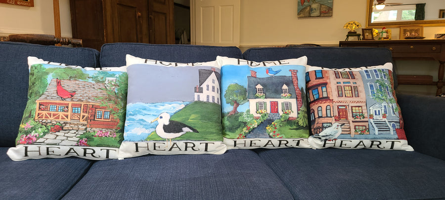 NANCY THOMAS PILLOWS - Heart & Home Collection - City