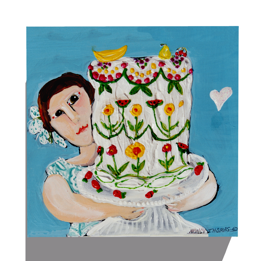 Gallery Canvas - Cake Girl