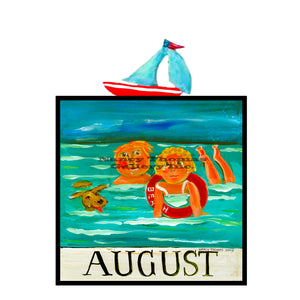 August-Children's Month Series (Beach)