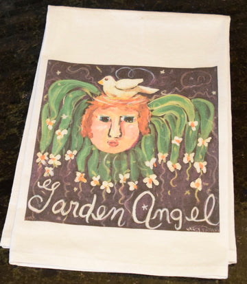 NANCY THOMAS KITCHEN TEA TOWELS - Garden Angel