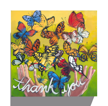Gallery Grand - Thank You Butterflies