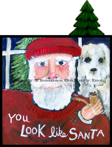 You and Santa Series - You Look Like Santa