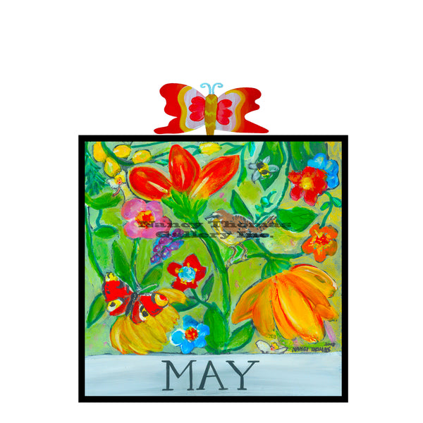 May-Floral Series