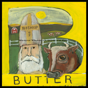 ALPHABET of SWEETS - B - Bishop of Butter