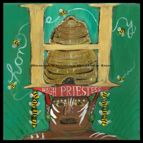 ALPHABET of SWEETS - H-High Priestess of Honey