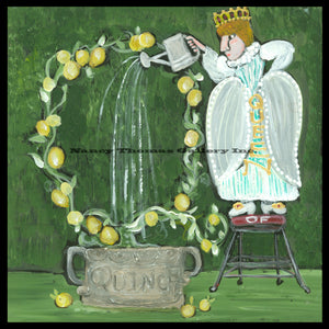 ALPHABET of SWEETS - Q - Queen of Quince