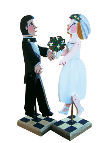 Articulated Bride and/or Groom