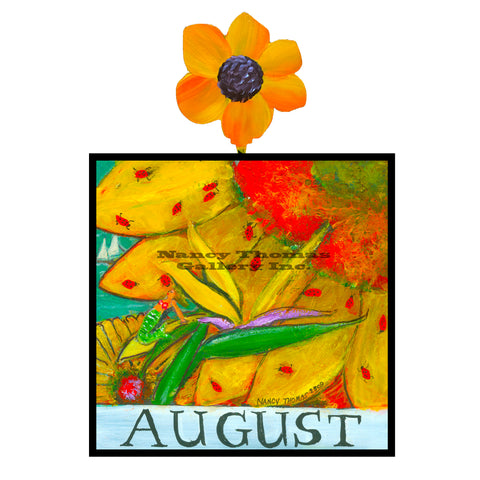 August-Floral Series