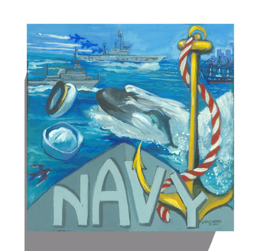 GALLERY CANVAS - NAVY