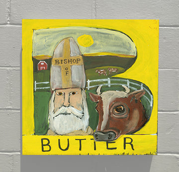 Gallery Canvas - ALPHABET of SWEETS - B - Bishop of Butter