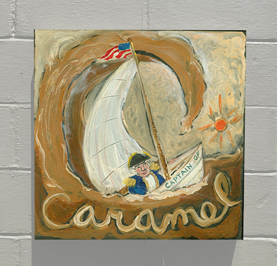 Gallery Canvas - ALPHABET of SWEETS - C - Captain of Caramel
