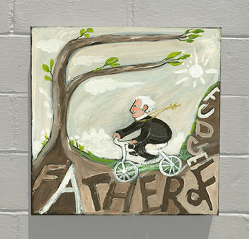 Gallery Canvas - ALPHABET of SWEETS - F - Father of Fudge