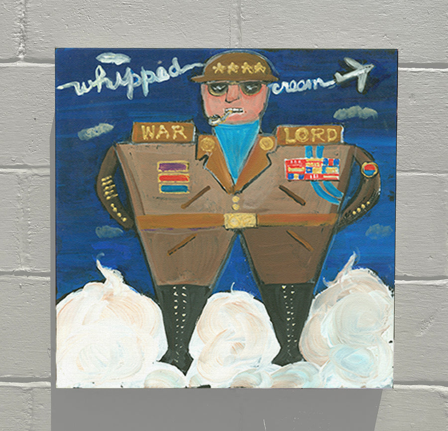 Gallery Grand - ALPHABET of SWEETS - W - Warlord of Whipped Cream