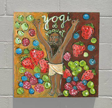 Gallery Grand - ALPHABET of SWEETS - Y - Yogi of Yogurt