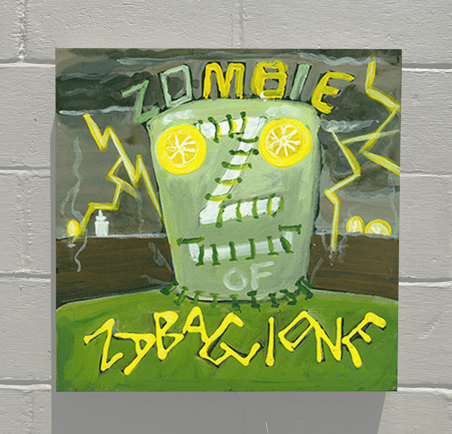 Gallery Canvas - ALPHABET of SWEETS - Z - Zombie of Zabaglione