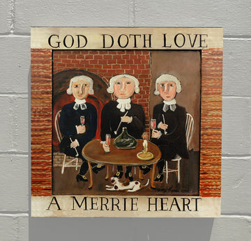 GALLERY CANVAS - God Doth Love