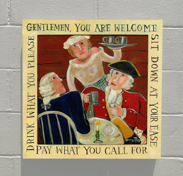 GALLERY CANVAS - Welcome Gentlemen