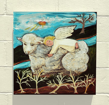 Gallery Grand - Angel on Lamb