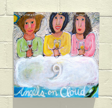 Gallery Canvas - Angels on Cloud Nine