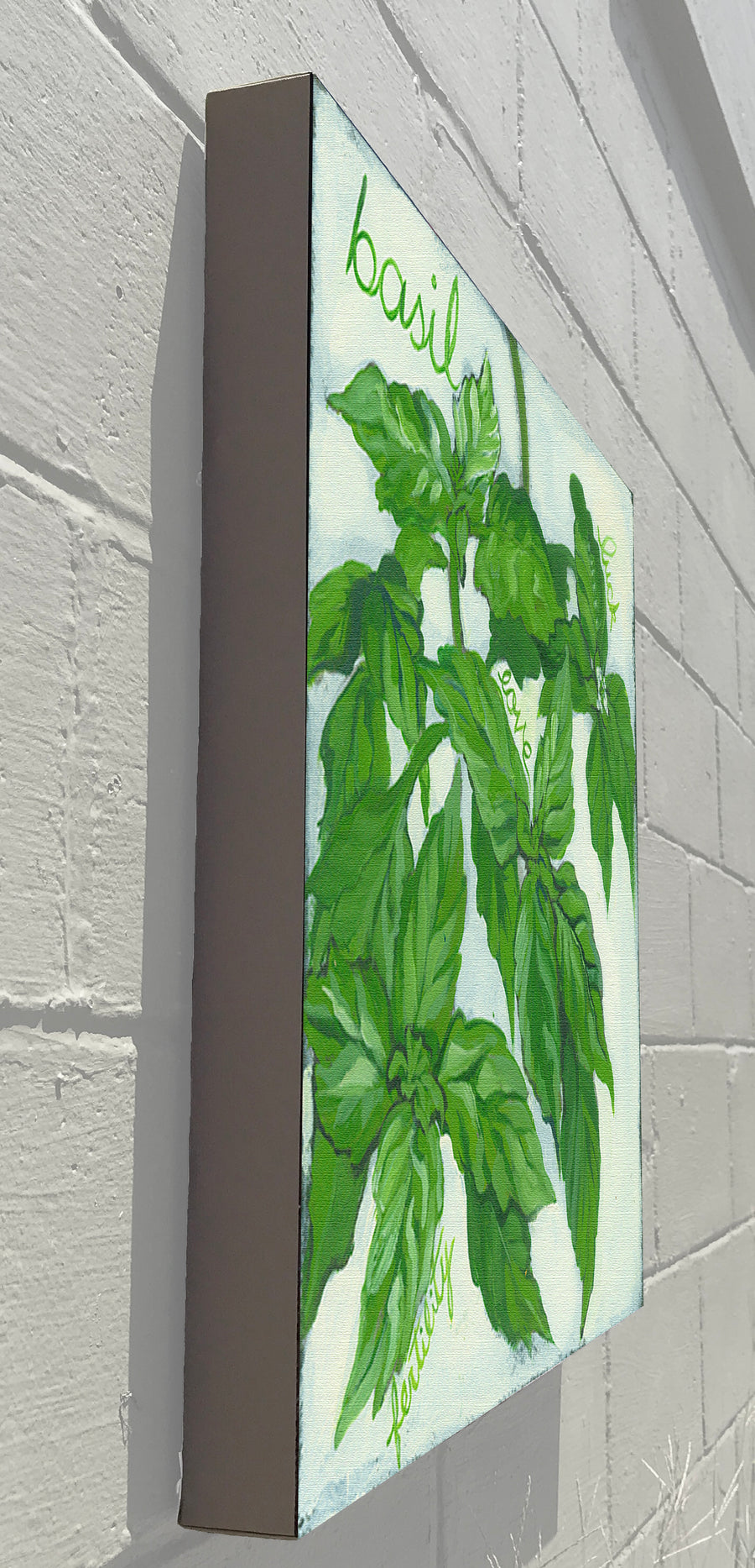 Gallery Canvas - Herbs Basil