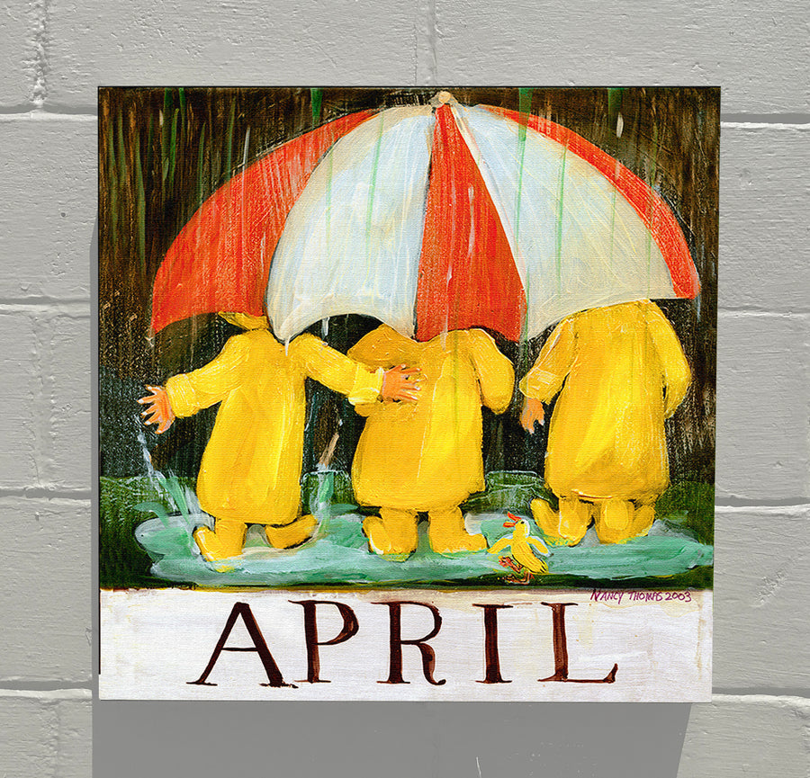 Gallery Grand -  April - Children's Month Series (April Showers)