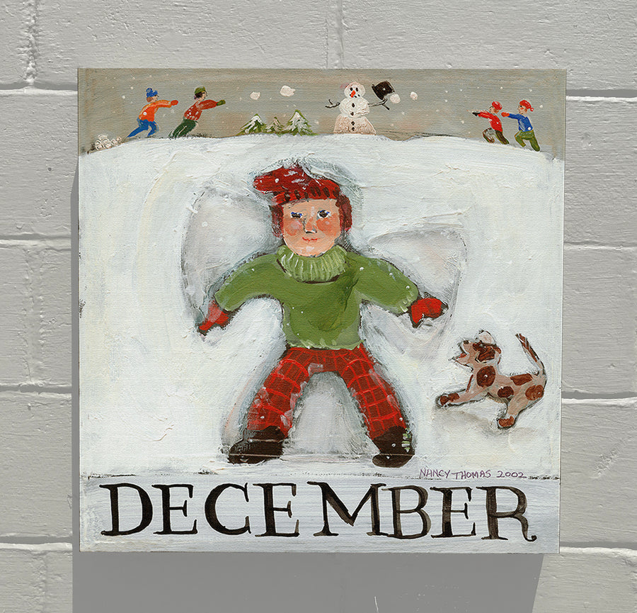GALLERY GRAND - December - Children's Month Series (Snow Angel)