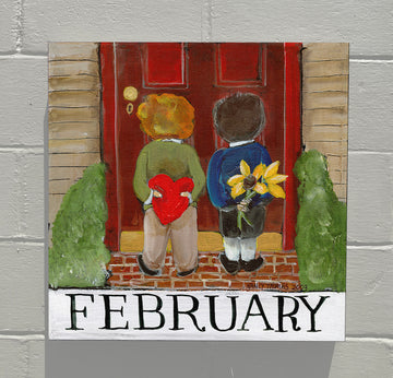 Gallery Canvas - February - Children's Month Series (Valentine)