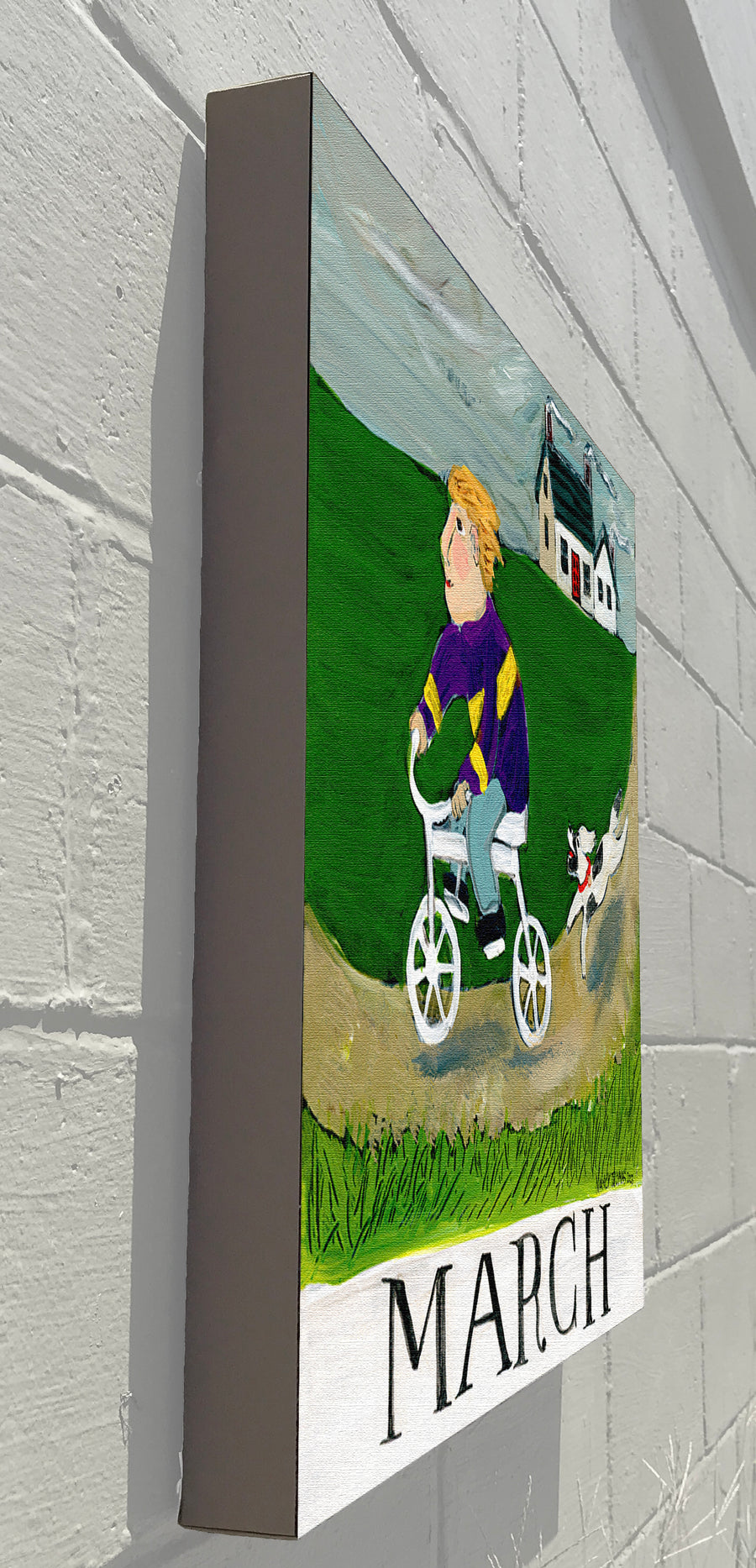 Gallery Grand - March - Children's Month Series (Bicycle Boy)