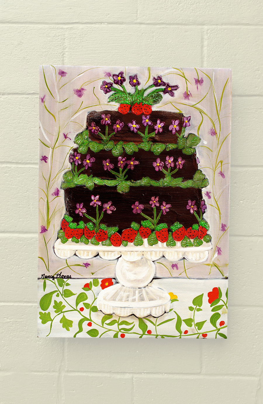 Gallery Grand - CAKE - Sweet Violets