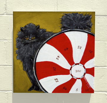 Gallery Canvas - CAT GAMES! Pinwheel