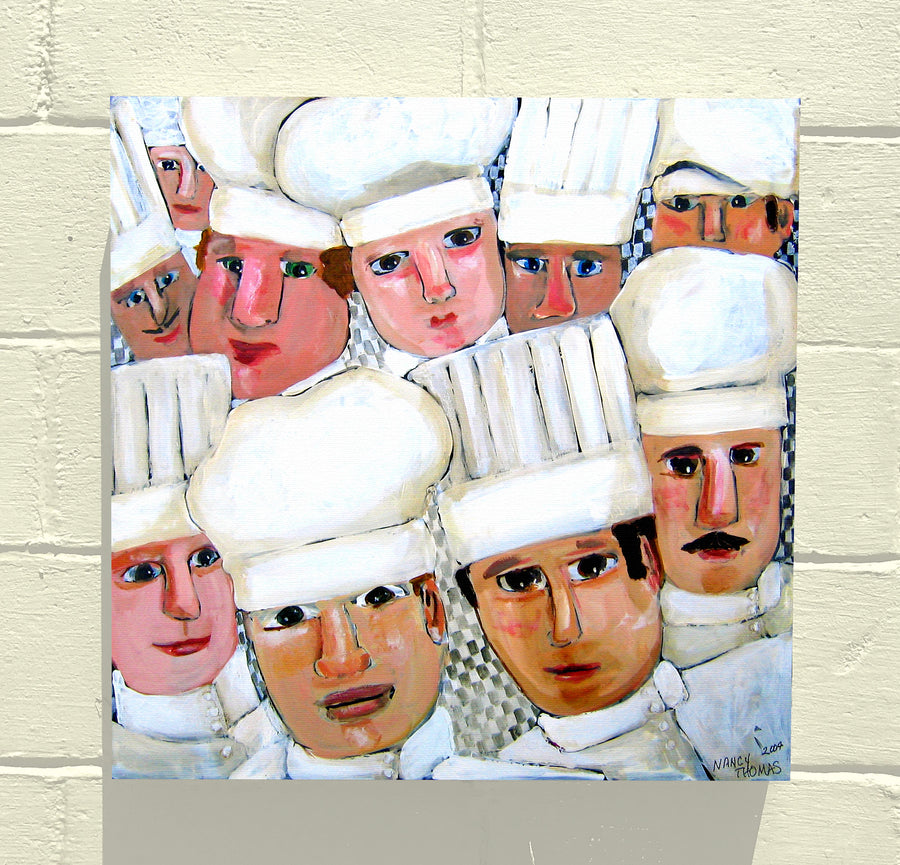 Gallery Canvas - Too Many Cooks