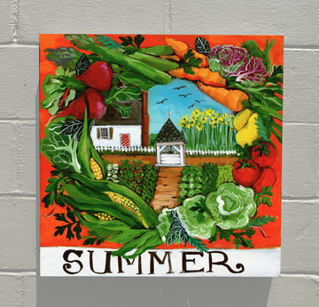 Gallery Canvas - Colonial Williamsburg Seasons - Summer