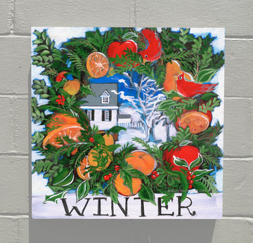 Gallery Canvas - Colonial Williamsburg Seasons - Winter