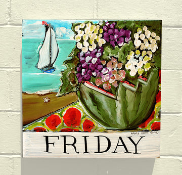 Gallery Canvas - Days of the Week - Original Series - Friday