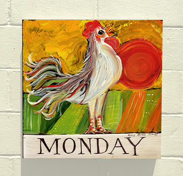 Gallery Canvas - Days of the Week - Original Series - Monday