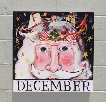 Gallery Canvas - December - Santa - Original Series