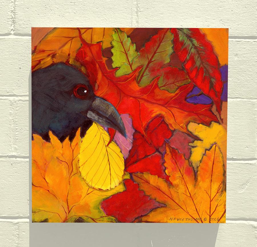 Gallery Grand -  Autumn Crow